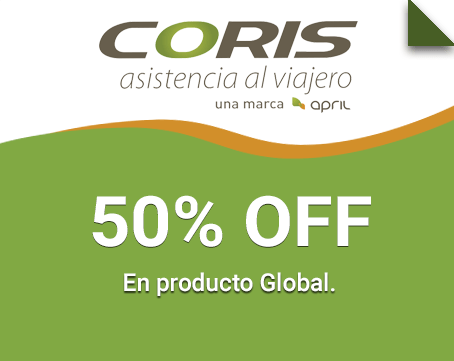 50% OFF Global, Global Plus y Discover.