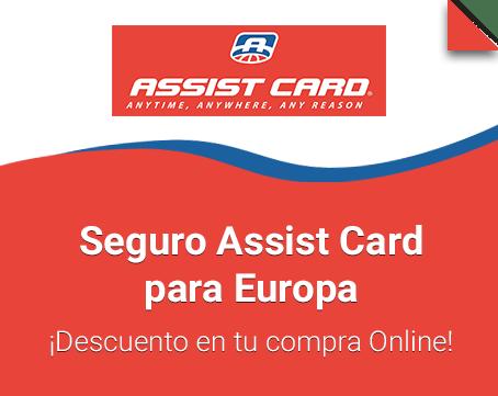 Seguro Assist Card para Europa
