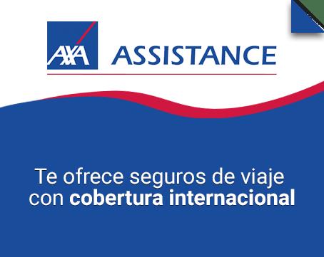 Seguro de viaje Axa Assistance
