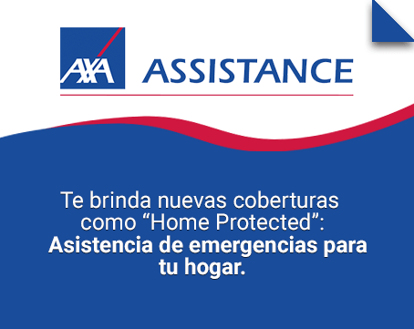 Home protected Axa Assistance