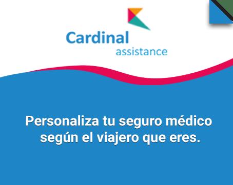 Seguro de viaje Cardinal Assistance