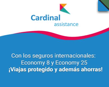 Seguro de viaje internacional Cardinal Assistance