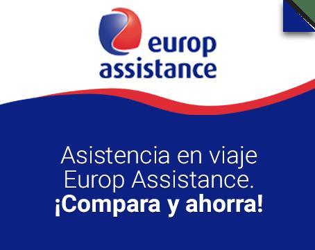 Promo 2x1 Europ Assistance.