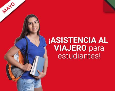 ¡Asistencia al viajero para estudiantes!