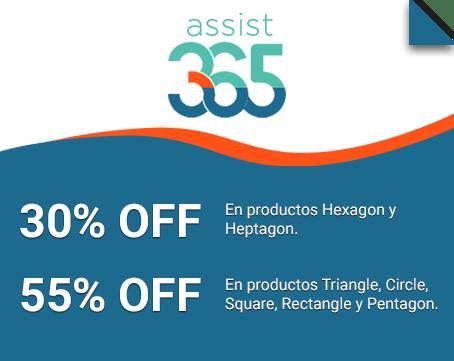 30% y 55% OFF.